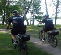 Patrole rowerowe.